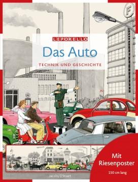Das Leporello-Buch: Das Auto