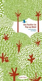 Das Faultier im Pop-up-Wald
