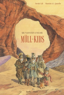 COVER_SIE NANNTEN UNS DIE MÜLL-KIDS.indd